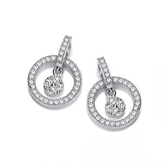 Cavendish French Floating Free CZ Earrings