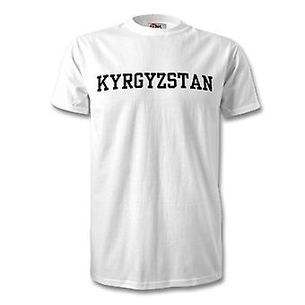 Kyrgyzstan Country T-Shirt