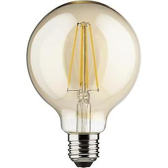 LED Müller Licht 230 V E27 8 W = 66 W Gold EEC: A++ Globe (Ø x L) 95 mm x 140 mm dimmable, Filament 1 pc(s)