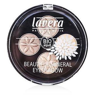 Lavera vackra Mineral ögonskugga Quattro - # 02 Cappuccino grädde - 4x0.8g/0.026oz