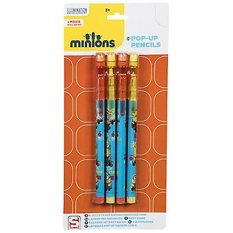 Pop Up Pencils | DESPICABLE ME MINIONS | Officially Licensed