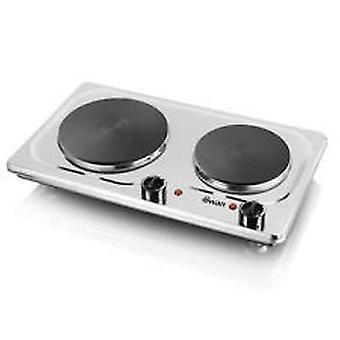 Swan SBR204 Double Electric Hob