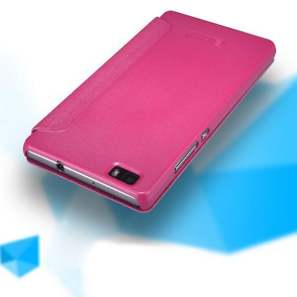 Original Nillkin smart cover Pink for Huawei Ascend P8 Lite