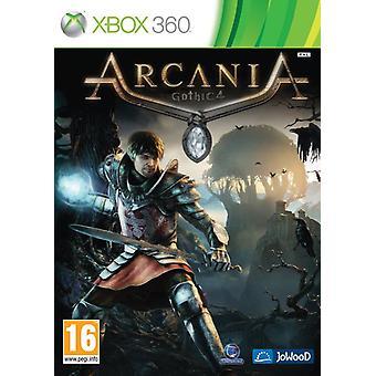 Arcania Gothic 4 Xbox 360-spill