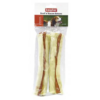 Beaphar Beef and Bacon rolls (Hunde , Snacks , Sticks)