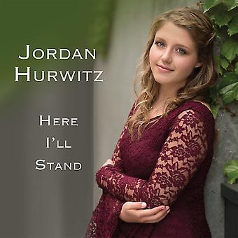 Jordan Hurwitz - her vil jeg stå [CD] USA import