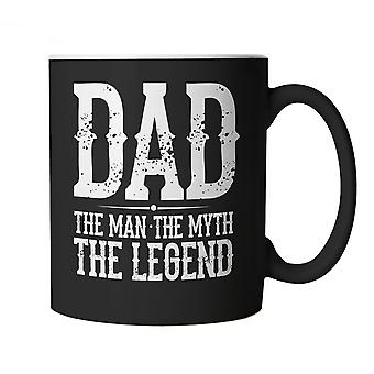 Vectorbomb, Dad, The Man, The Myth, The Legend, Funny Novelty Mug