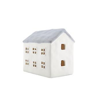 Lys-glød Medium hus med LED, grå