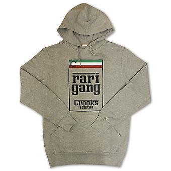 Crooks & Castles Rari Gang Hoodie Heather Grey