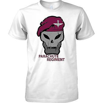 Fallschirm-Regiment Beret und Skull - T-Shirt für Herren