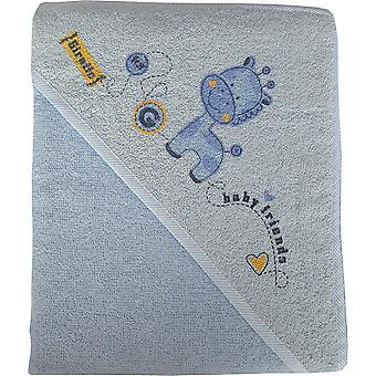 BlueberryShop Luxury Printed WARM HOODED Bath Beach TOWEL Baby Kid Todler 80 x 80 cm (31.5