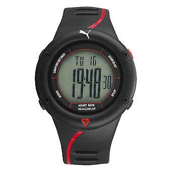 PUMA men's wristwatch 'Cardiac 01' PU911361002 black