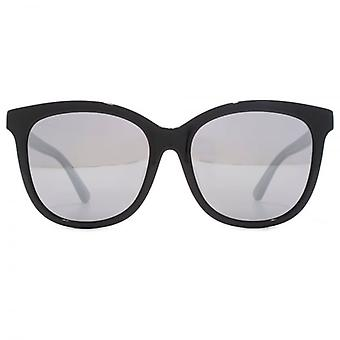 Gucci Classic Logo Square Sunglasses In Black On Grey