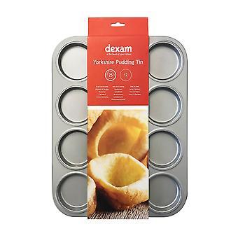 Dexam 12 Cup Yorkshire Pudding Tin