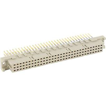 Edge connector (receptacle) 224412 Total number of pins 96 No. of rows 3
