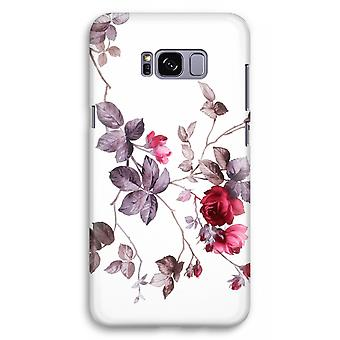 Samsung Galaxy S8 Plus Full Print Case (Glossy) - Pretty flowers