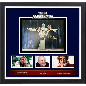 Young Frankenstein - Signed Photo Collage in Frame
