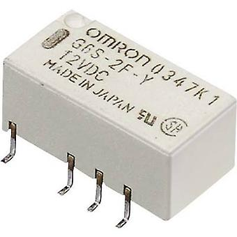 PCB relays 12 Vdc 2 A 2 change-overs Omron G6S-2F