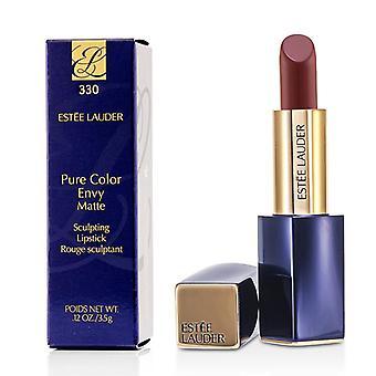 Estee Lauder rene farger misunnelse Matt Sculpting leppestift - # 330 avgjørende Poppy - 3.5g/0.12oz