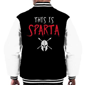 This Is Sparta 300 Men's Varsity Jacket