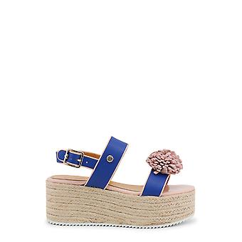 Love Moschino Women Wedges Blue