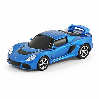 Lotus Exige S coche USB Memory Stick Flash Drive 8Gb - azul