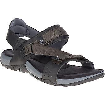 Merrell Mens Terrant pasek skórzany oddychającej siatki spaceru sandały