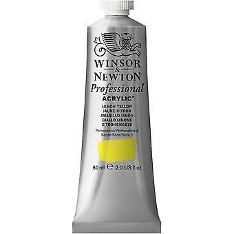 Winsor & Newton professionella akryl 60ml - 346 Lemon Yellow (S2)