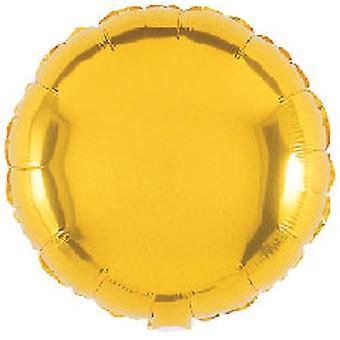 Folie ballon ronde massief Metallic goud