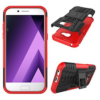 Hybrid case 2 piece SWL outdoor red for Samsung Galaxy A3 2017 A320F