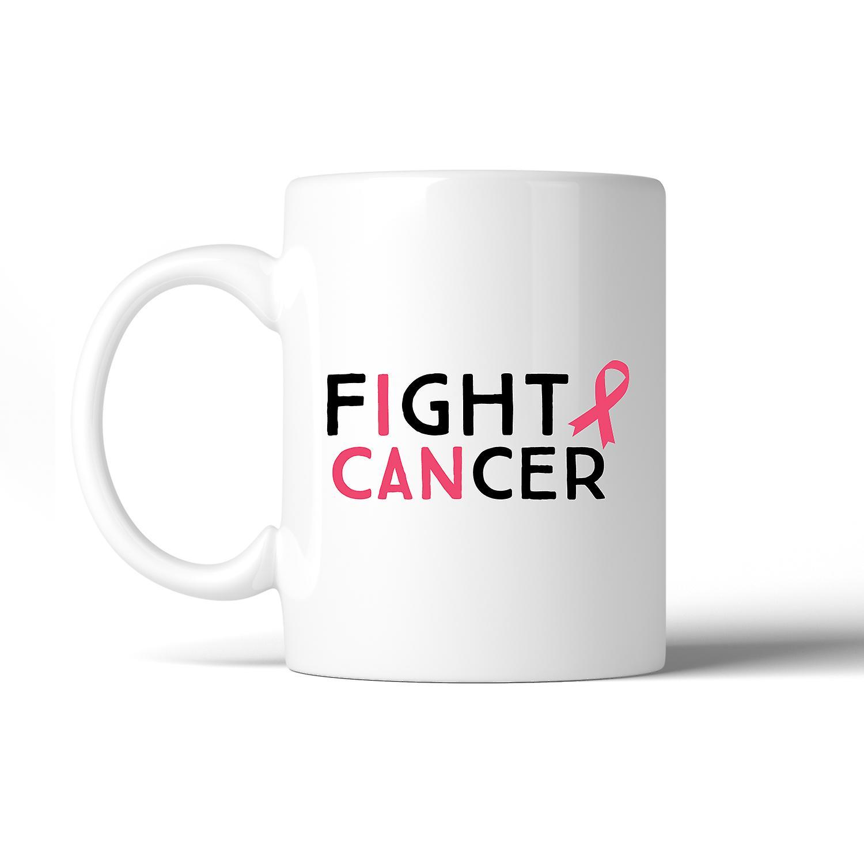 Coffee Mug I Support Fight Can Breast Cancer 7gvYbyf6I