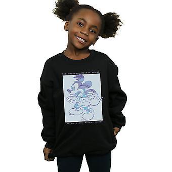 Disney Mädchen Original Mickey-Mouse-Sweatshirt