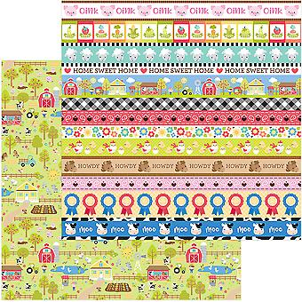 Down On The Farm Double-Sided Cardstock 12