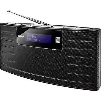 Dual DAB 15 DAB+ Portable radio DAB+, FM rechargeable Black