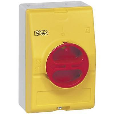 Isolateur de 172161 BACO commutateur 32 A 1 x 90 ° jaune, rouge 1 PC (s)