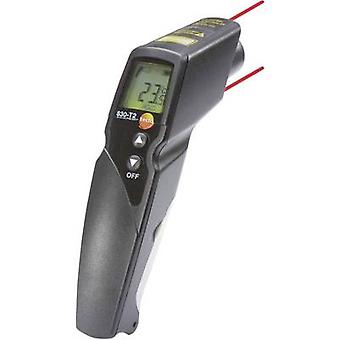 IR thermometer testo 830-T2 Display (thermometer) 12:1 -30 up to +400 °C Contact measurement Calibrated to: Manufacturer