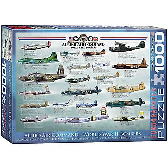 World War 2 Bombers (Allied Air Command) 1000 Piece Jigsaw Puzzle