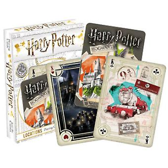 Harry Potter Locations 52 Playing Cards (+ Jokers)