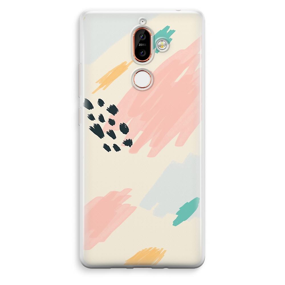Nokia 7 mais transparente caso (Soft) - domingo Chillings