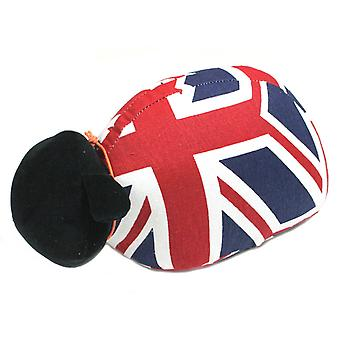 Union Jack Sheep Doorstop by Monica Richards