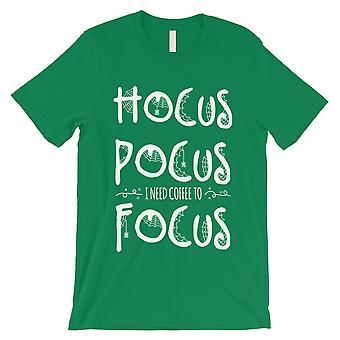 Hocus Pocus Focus Mens Green T-Shirt