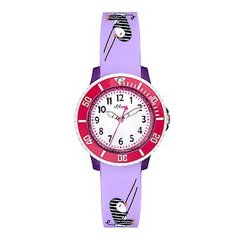 s.Oliver silicone band watch kids SO-3630-PQ