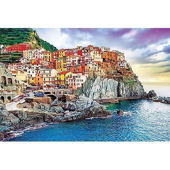 Manarola poster Italië Middellandse Zee (Cinque Terre)