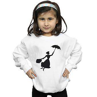 Disney Girls Mary Poppins Flying Silhouette Sweatshirt