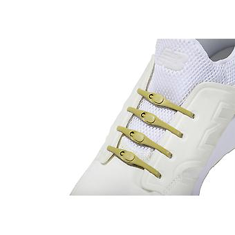 1 Pack of 14 Hickies 2.0 Replacement Laces for fast slip-on ~ Mineral Yellow