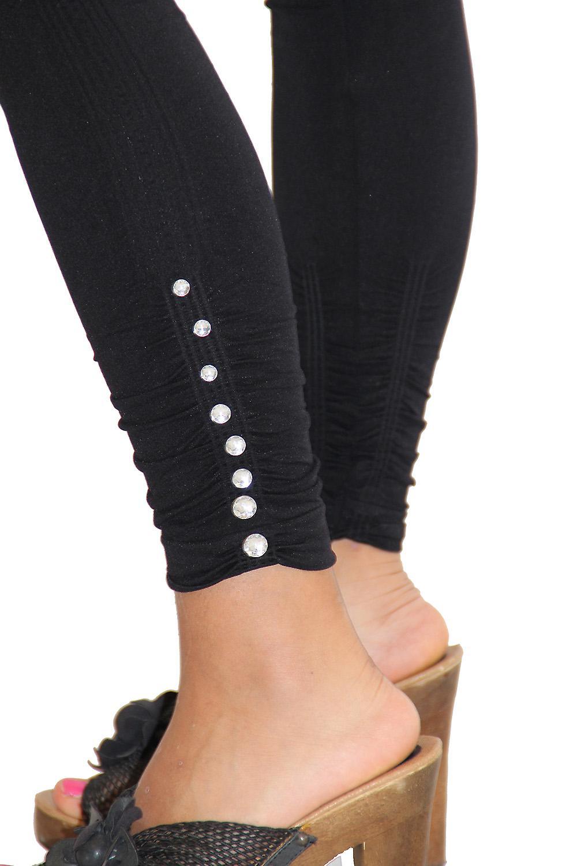 Waooh - Mode - Legging avec pierre