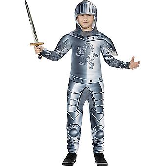 Deluxe Armoured Knight Costume, Small Age 4-6