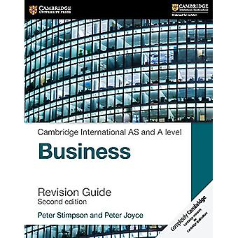 Cambridge International AS and A Level Business Revision Guide by Pet