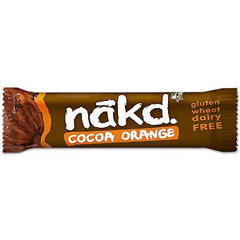 Nakd glutenfrei & Molkerei kostenlos Kakao Orange Bars