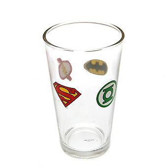 DC Comics Official Large Glass